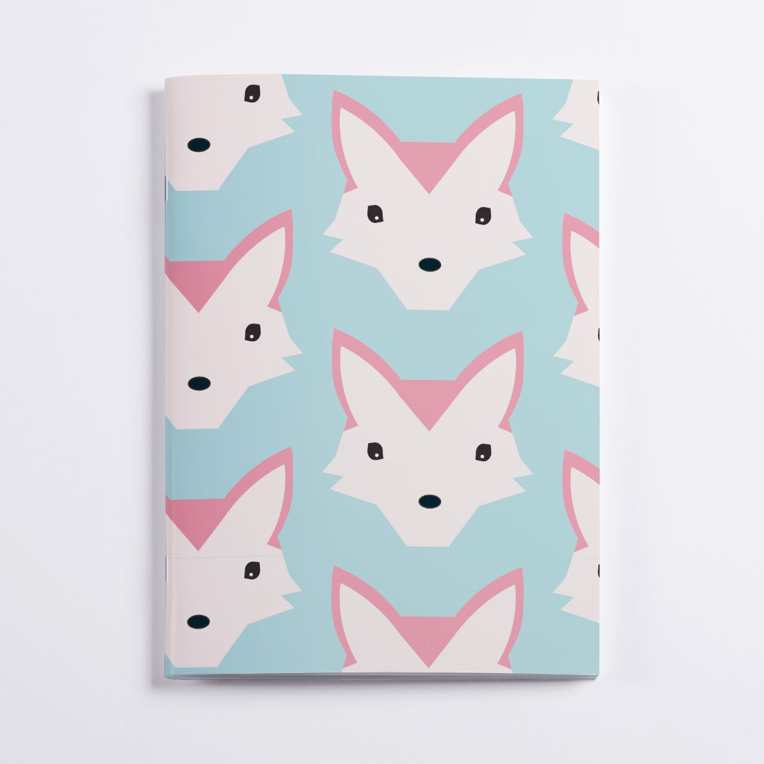 Cahier Foxes Crazycat