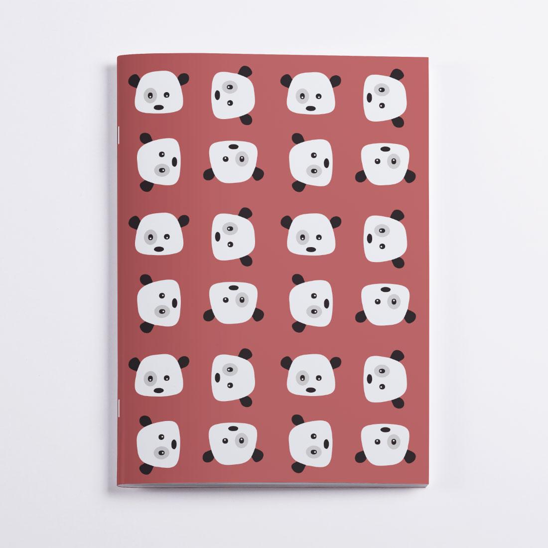 Cahier Pandas Crazycat