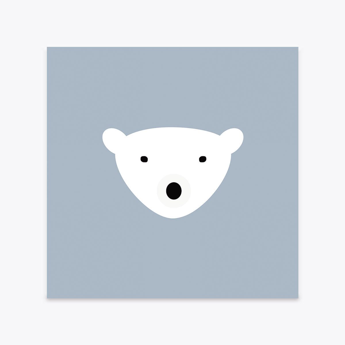 Carte Postale Bear Crazycat