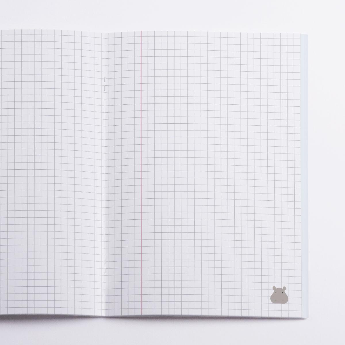 Africa Notebook Crazycat / inside