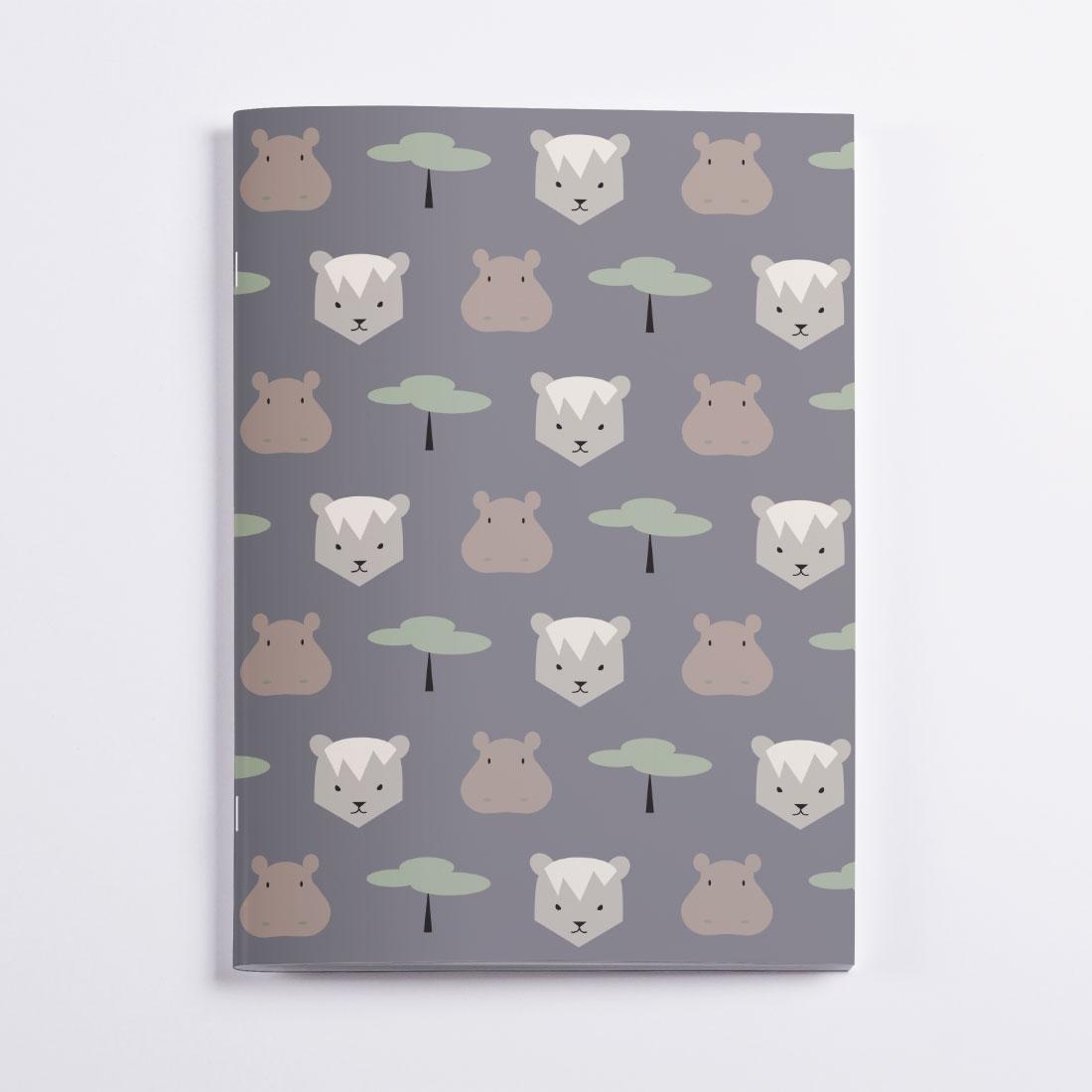 Africa Notebook Crazycat