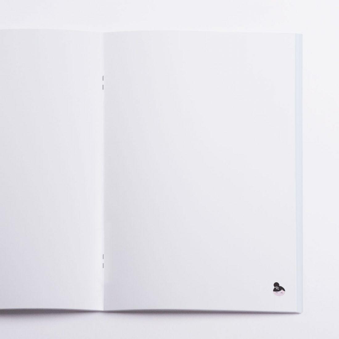 Asia Notebook Crazycat / inside