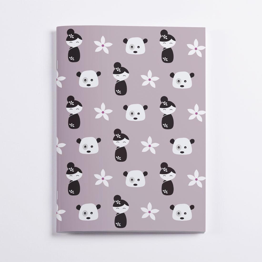 Asia Notebook Crazycat
