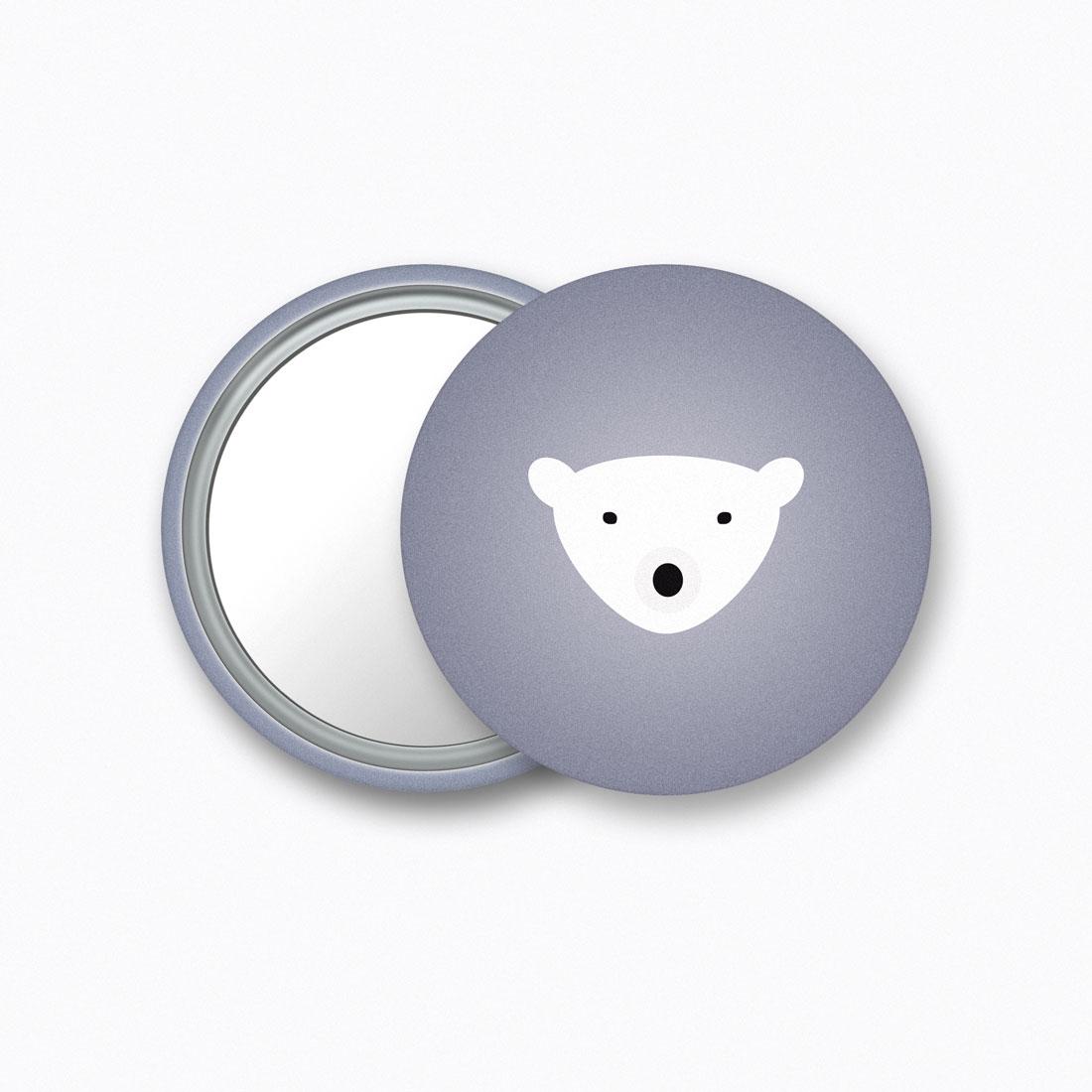 Bear Mirror Crazycat