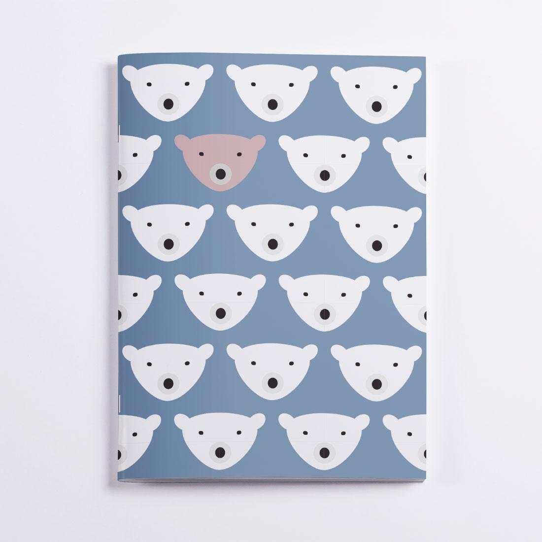 Bears Notebook Crazycat