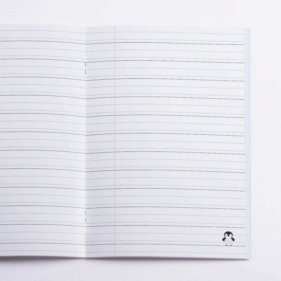 Floe Notebook Crazycat / inside