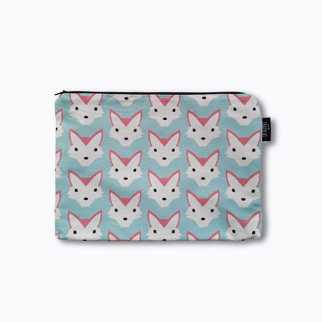 Foxes maxi Pouch Crazycat