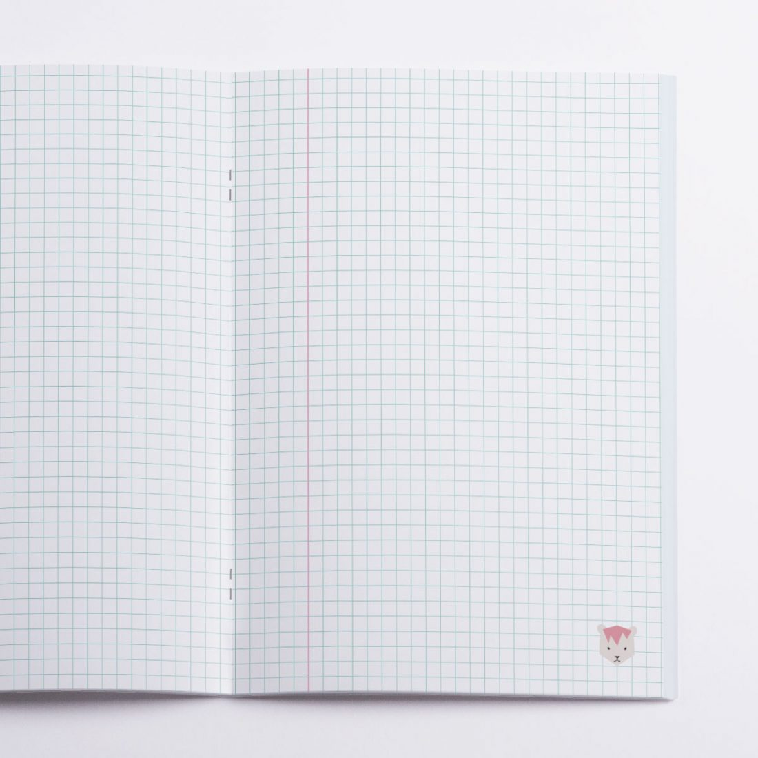 Lions Notebook Crazycat / inside