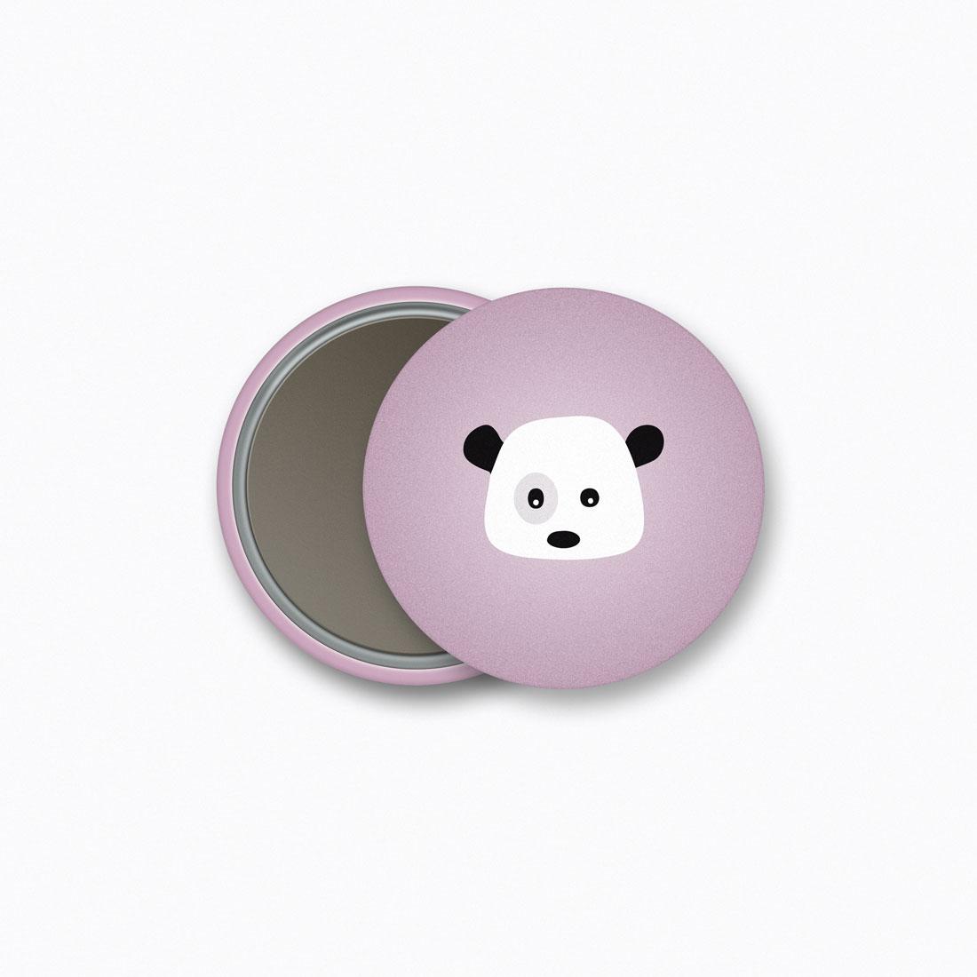 Panda Magnet Crazycat
