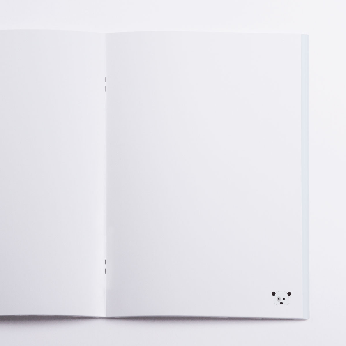Pandas Notebook Crazycat / inside