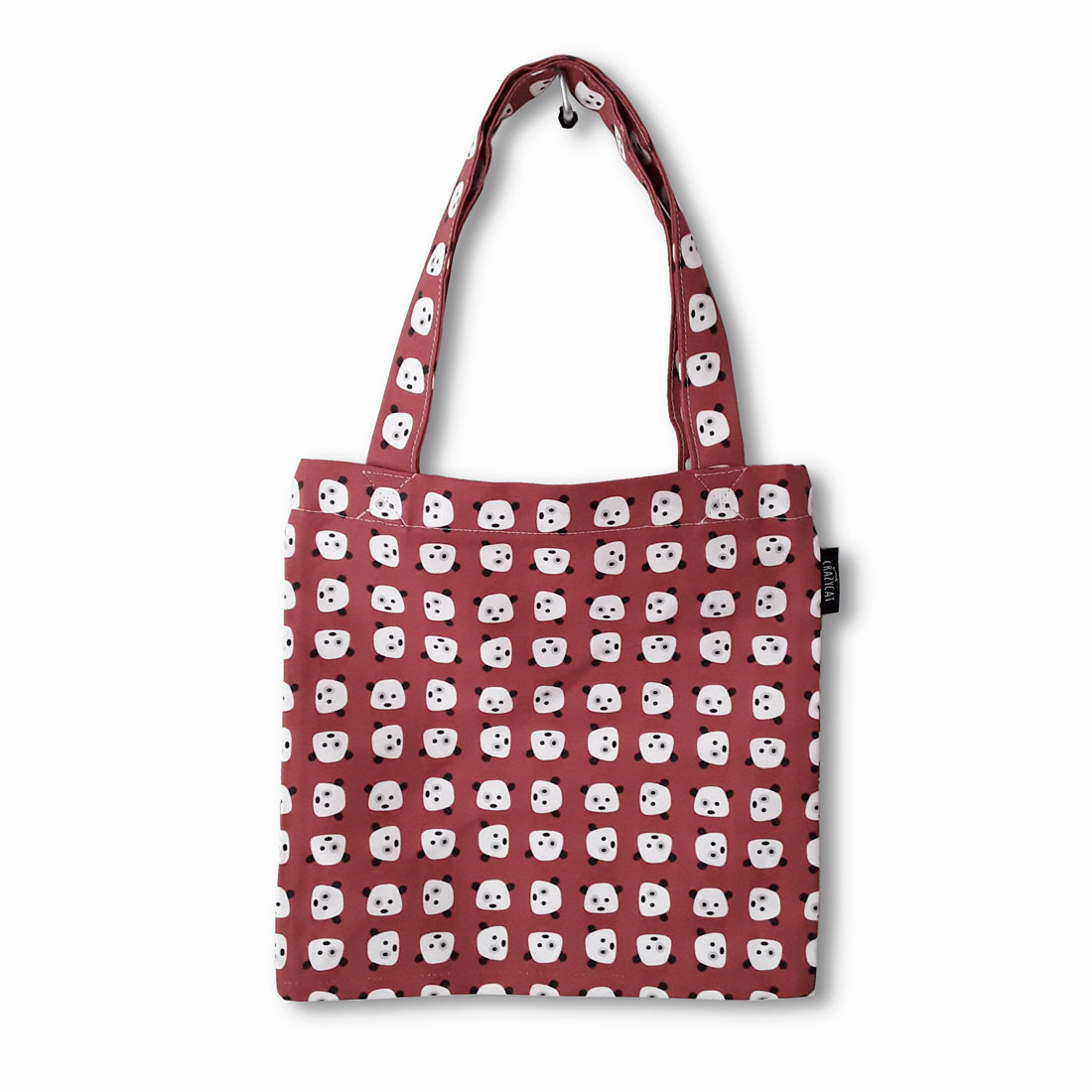 Pandas Tote bag Crazycat