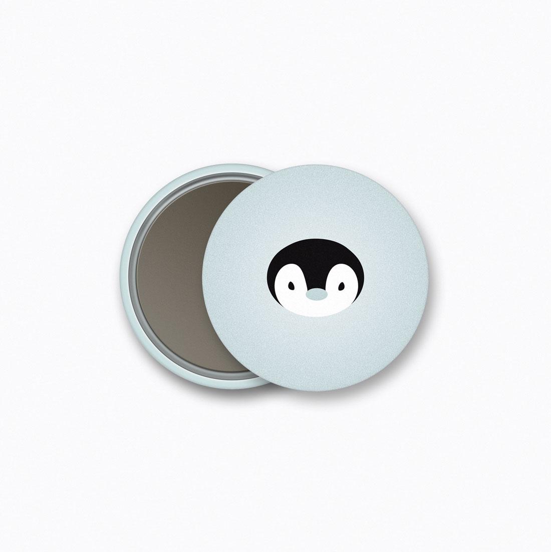 Penguin Magnet Crazycat