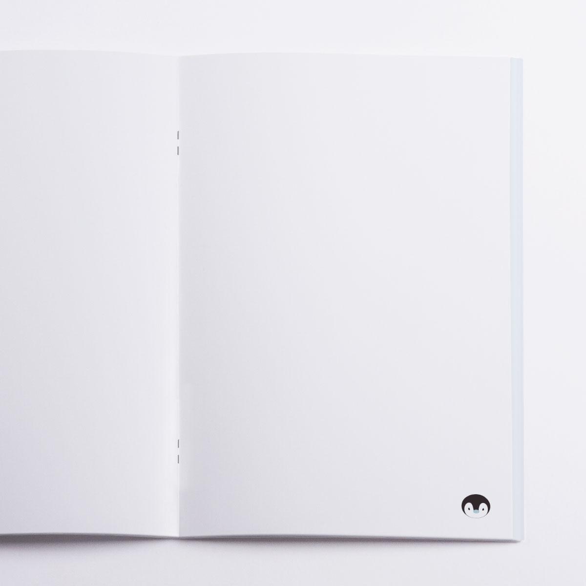 Winter Pocket Notebook Crazycat
